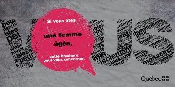 Version française - PDF - Secrétariat à la condition féminine Québec ...