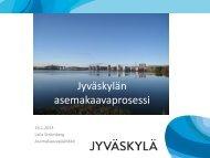 Jyväskylän asemakaavaprosessi - Jyväskylän kaupunki