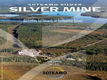 Benefits to Invest in Sotkamo Silver - Redeye