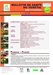 n° 16 - Chambre régionale d'agriculture Midi-Pyrénées