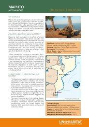Maputo - Mozambique - UN-Habitat
