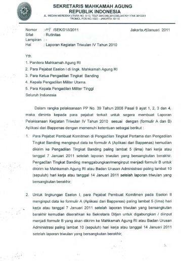 surat tersebut - PT Bandung