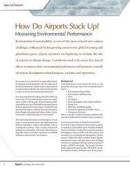 How Do Airports Stack Up? Measuring Environmental - VHB.com
