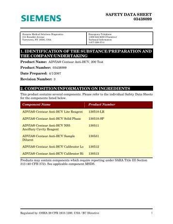 ADVIA Centaur Anti-HCV, 200 Test