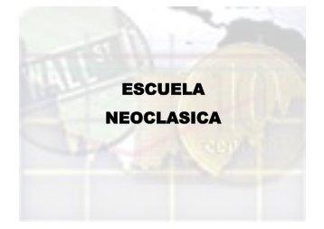 ESCUELA NEOCLASICA - IGBA
