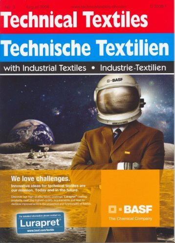 Developments in f ibers and yarns (extract) - Dornbirn-mfc.com