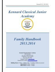 Kennard Family Handbook 2013-2014 - St. Louis Public Schools