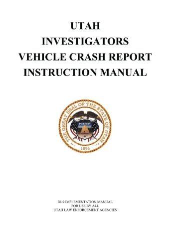 DI-9 Manual PDF - Utah Department of Public Safety
