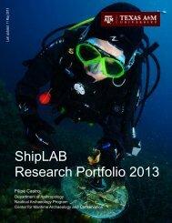 Portfolio - Nautical Archaeology at Texas A&M University
