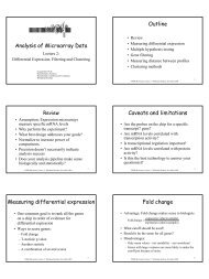 to print - Bioinformatics and Research Computing - MIT