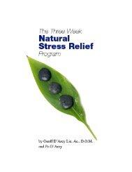 Stress Relief Workbook - True-Wellness