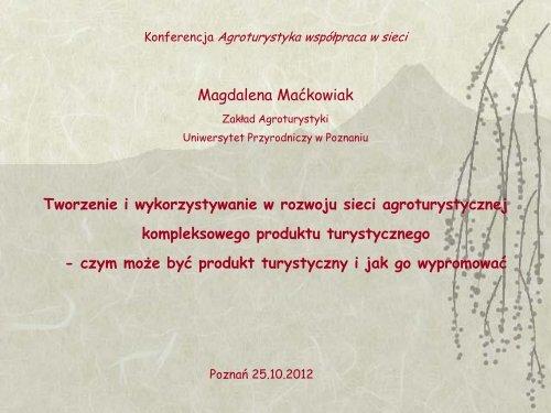 Tworzenie i wykorzystywanie w rozwoju sieci ... - KSOW