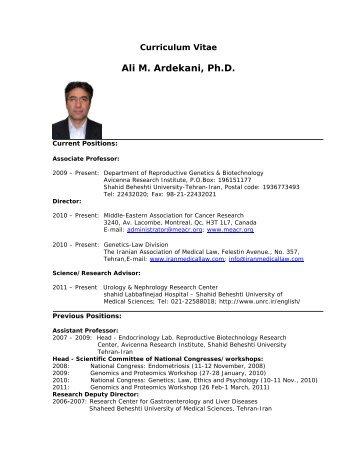 Ali Niknejad Thesis Research Paper Sample Vhpapergakp