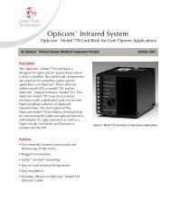 Opticom ® Model 770 Card Rack for Gate Opener Applications - GTT
