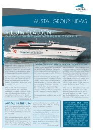 Austal News - Issue 1 2000 - Austal Ships