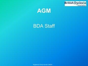 BDA Staff