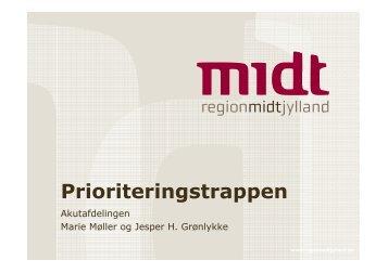 Prioriteringstrappen - Regionshospitalet Randers