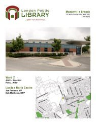 Masonville Branch Ward 2 - London Public Library