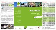 Tarif NeO-BUS Linie 821 - Neckar-Odenwald-Kreis