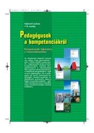 Pedagógusok a kompetenciákról 7-8. osztály - Műszaki Könyvkiadó