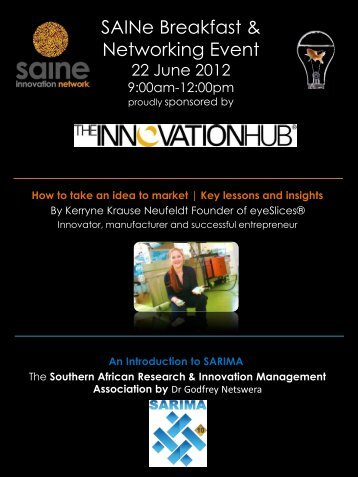 News from SAINe Volume 1, January 2012 - The South African LED ...