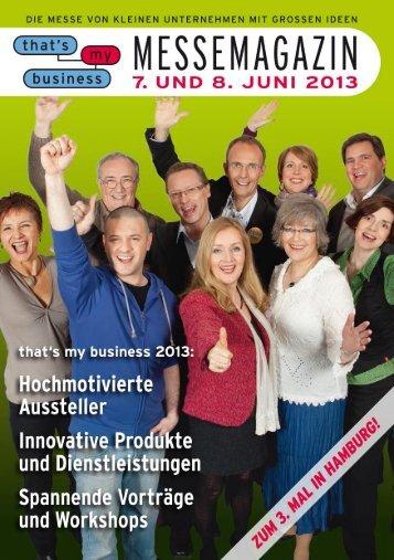 Jobs für Norddeutschland - That's my business