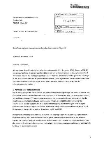 Zienswijze ontwerp bp: Broekmate.pdf - gemeente Hellendoorn