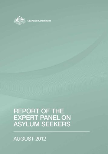 Report of the Expert Panel on Asylum Seekers - Full report