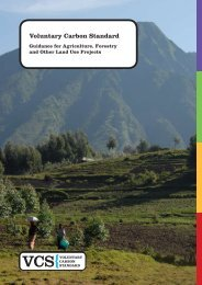 Guidance for Agriculture, Forestry and Other Land Use Projects