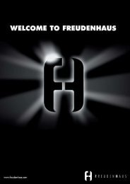 press releases - Freudenhaus