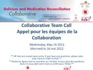 Information Session - Canadian Patient Safety Institute