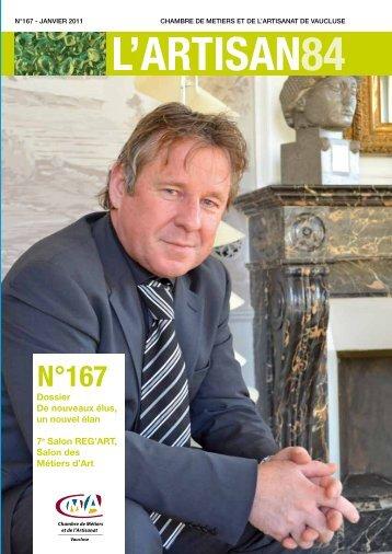 n°167 - Chambre de Métiers et de l'Artisanat de Vaucluse