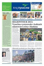Únor 2013 - Extranet - Kraj Vysočina