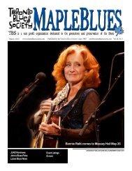 March 2012 - Toronto Blues Society