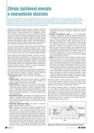 Zdroje špičkovej energie a energetické úložiská - iDB Journal