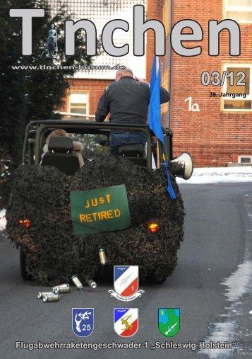 Kosovo-Einsatz, Übergabe VersStff/FlaRakGrp 26, BEA - TINCHEN eV