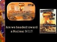 Are we headed toward a Nuclear 9/11? - Markville Secondary School