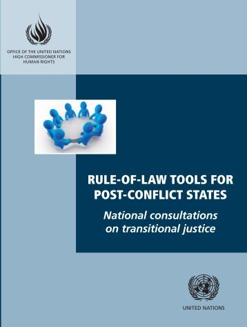 National Consultations on Transitional Justice - Office of the High ...