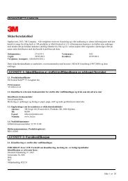 Sikkerhetsdatablad AVSNITT 1: Identifikasjon av stoffet ...