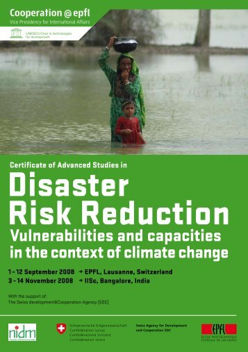 CDRR 2008 Brochure.pdf - Cooperation at EPFL