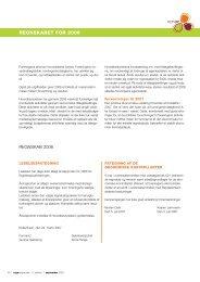 REGNSkabET FOR 2006 - Ergoterapeutforeningen