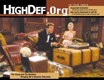 The Young and The Restless: Bringing HD to Daytime ... - HighDef