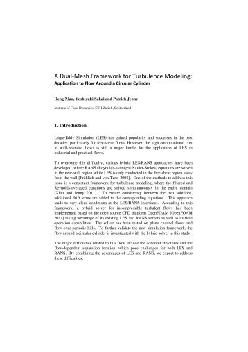 Application to flow around circular cylinder - EPCC