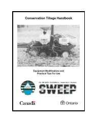 Conservation Tillage Handbook - Ontario Agri-Environmental ...