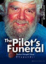 The Pilot's Funeral Teachers Notes - Program Sales