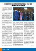 la force de la paix - Onuci - Page 4