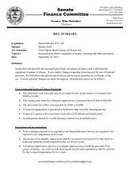 Senate Bill 444 Summary
