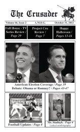 Obama or Romney? - St Paul's High School