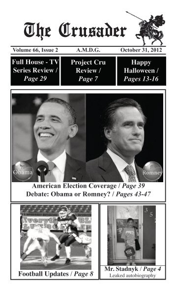 Obama or Romney? - St Paul's High School