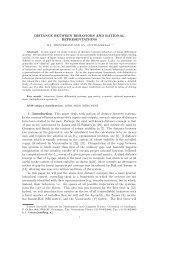 Distance between behaviors and rational representations